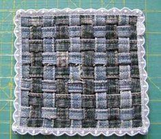 Jean seams into coaster онлайн дневников, baby quilts, обсуждение на, liveinternet российский, российский сервис, craft ideas, на liveinternet, сервис онлайн, old jeans