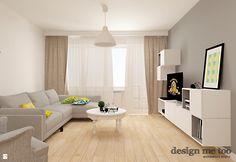 Salon styl Skandynawski - zdjęcie od design me too - Salon - Styl Skandynawski - design me too