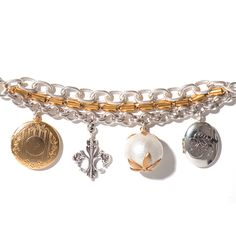 Flea Market Finds Charm Bracelet