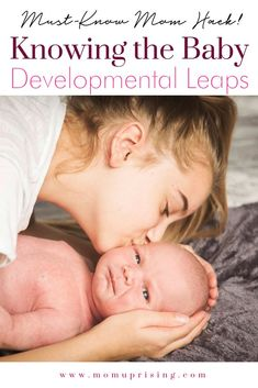 The ultimate mom hack is knowing about the baby developmental leaps. You can deal with cranky times with at least a little more ease if you are familiar with baby developmental leaps! Make momlife just a little bit easier. Newborn Baby Tips, Newborn Care, Peaceful Parenting, Gentle Parenting, Mom Hacks, Baby Hacks, Foster Parenting, Parenting Hacks, Art Activities For Toddlers