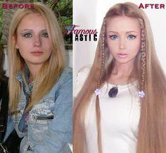 Valeria Lukyanova Makes Barbie Look Frumpy…