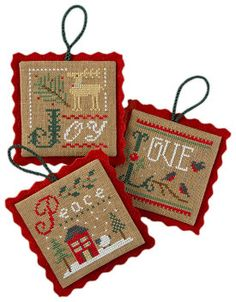 Lizzie Kate Snippet S101  2011 Ornaments  by DebiCreations on Etsy, $4.99
