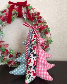 @ chick chick sewing: Fabric Stuffed Christmas Tree Tutorial ☆