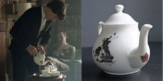 A website which has a whole slew of the Sherlock set items for sale. Amazing!