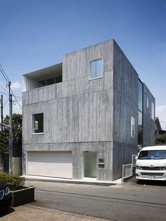 Takanawa House by O.F.D.A.: Hiroyuki Ito 日本