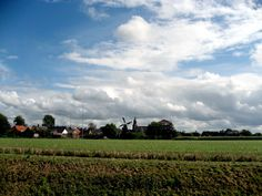 Eenrum, a typical #Dutch village (... and weather) in the north of #Groningen, The #Netherlands