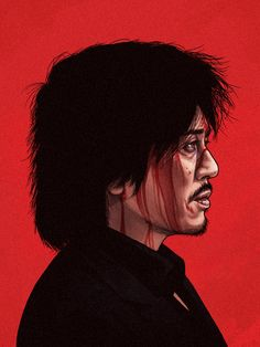 Dae-su Oh (Min-sik Choi) from 'Oldboy' - Illustrated character portrait (by Mike Mitchell). Mike Mitchell, Iconic Movie Characters, Iconic Movies, Good Movies, Famous Movies, Cultura Pop, Geek Art, Character Portraits, Film Serie