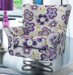 Alstons Camden Swivel Chair from Queenstreet Carpets & Furnishings - Furniture stores in Exeter.