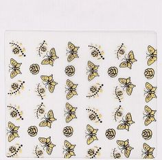 One Piece of Chic Butterfly Floral Shape Nail Sticker Category: Beauty > Nails & Tools > Stickers & Decals  #3dnailartstikers #3dstikers #nailstikers #artstikers #bridgat.com