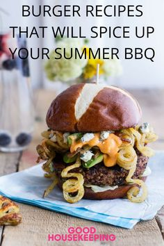 30+ Burger recipes you need to try ASAP. Point to the griller in your family. Here's their summer bucket list.