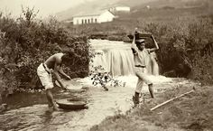 Lavagem do ouro - Minas gerais - 1880 - (Marc Ferrez / Coleção Gilberto Ferrez) Acervo do Instituto Moreira Sales