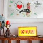 Decoration for children with Lightbox!