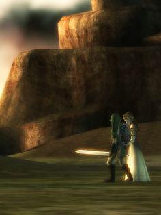 Twilight Princess ~ Link & Zelda
