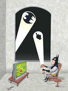 Some days, Batman says: Clean up your own mess Gotham. I'm watching my stories! lol