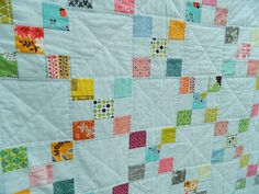 A few days ago I finished my Irish Chain quilt, and I'm totally over the moon, I so love how it turned out. I started off with a stack o...