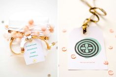 """Just a reminder """"Everyone deserves some sparkle"""" #gift_wrapping #packaging #gold"""