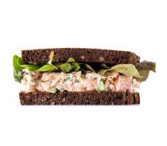 Smoked Salmon Salad Sandwich recipe