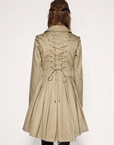 Love this Trenchcoat!  THE COAT WORN IN SILVER LININGS PLAYBOOK on The Hunt