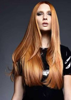 The perfect copper hair color 2014