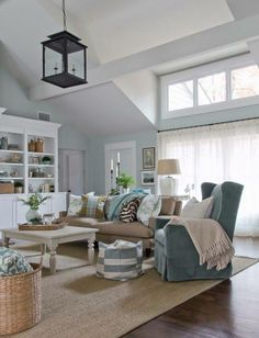 relaxed and comfortable living room | country life and other passions