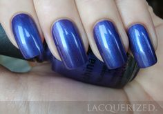 China Glaze Tempest - I love this color! The pic really doesn't show all the awesome that it is.