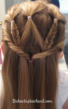 Little girls hair styles