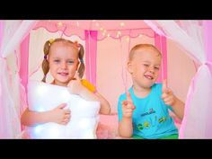 Gaby and Alex pretend play with Magic Playhouse Tent Toy Pretend Play, Play Houses, Tent, Magic, Youtube, Eten, Cabin Tent, Rpg, Tentsile Tent