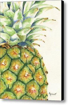 Aloha Canvas Print / Canvas Art By Marsha Elliott