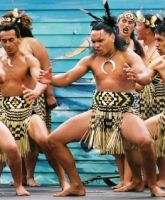 """Kāwhia Kai Festival - Hamilton Waikato. One of the top Māori attractions in New Zealand, this festival is a celebration of the indigenous culture with focus on native Māori food. Locals call Kāwhia """"kai food heaven"""" because of the plentiful supplies of seafood and wild game, and festival-goers feast on wild pork, an array of New Zealand shellfish, and mud snails. Held in early February, the festival is timed to coincide with New Zealand's national holiday - Waitangi Day - on 6 February."""