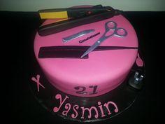 #hairdresser #cake #ghd