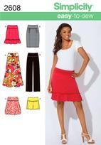 Misses Knit Skirts