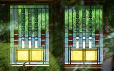 Alvin Miller House - Page 2 - Wright Chat Frank Lloyd Wright Style, Frank Lloyd Wright Buildings, Charles City Iowa, Usonian House, Miller House, Stained Glass Quilt, Concept Architecture, Architecture Design, Radiant Floor