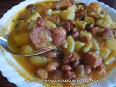 Viajar de Mochila às Costas: Feijão com batata