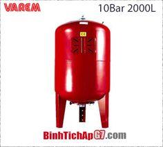 Bình tích áp Varem 10 BAR 2000L. LH: HUỲNH ANH_ 0917804721.