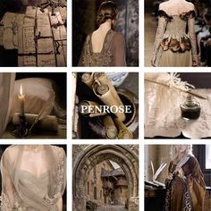 House Penrose lords of Parchments, Set Down Our Deeds House Penrose is a noble house from Parchments in the Stormlands. They are one of the main noble houses sworn to the Baratheons of Storm's End. Their blazon is two white quills crossed on a brown field.  House Penrose gained a significant influence within the royal court after lord Ronnel Penrose married Princess Elaena Targaryen.