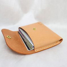 Arts And Crafts Homes Info: 9084258064 Leather Diy Crafts, Leather Projects, Leather Craft, Handmade Leather Wallet, Leather Card Wallet, Leather Bag, Leather Business Card Holder, Leather Portfolio, Sewing Leather