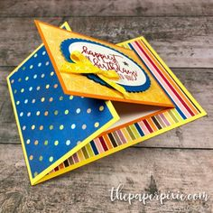 Picture Perfect Birthday Joy Fold - The Paper Pixie
