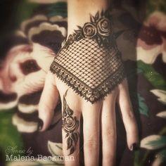 Henna Lace Glove Tattoo #malenaspyssel