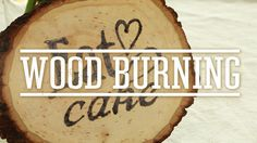 Wood burning signs are great for entertaining, weddings or even for your home.Colorful DIY Enamel Painted VasesWow Your Guests With a Fabulous Cheese PlateHow To Make Infused Sugars For Gifts or BakingYou can use them as place markers, seating cards and signs -- or monogramming cutting boards and other items made of wood.