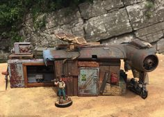 No 6 Junktown - Post Apocalyptic Housing in 28mm