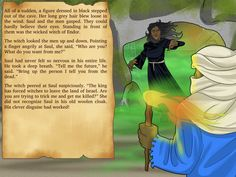Free Bible Lesson Plans, Cartoons, and Puzzles for parents and teachers. Learn about the Witch of Endor, the danger of witchcraft, and King Saul. Witch Of Endor, Bible Stories For Kids, Free Bible, Wicked Witch, Bible Lessons, Witchcraft, Lesson Plans, Adventure, Fictional Characters