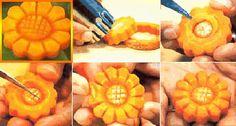 Decorazioni con le carote, sculture di verdure. Speciale Pasqua 2015. Sottocoperta.Net: il portale di Viaggi, Enogastronomia e Creatività
