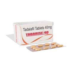 Buy Tadarise 40mg Online is a name for generic Cialis, an erectile dysfunction medication based on Tadalafil. Tadarise comes in different strengths, unlike many other Tadalafil-based drugs that only come in 20 mg pills.