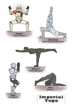 Star Wars Yoga Posters