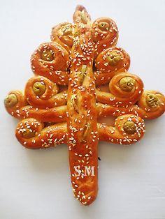 КУЛИНАРНЫЕ ОТКРОВЕНИЯ ОТ СВЕТЛАНЫ МЕТАКСА: Фигурная выпечка ( импровизация на тему природа) Оливковое дерево