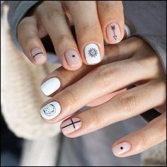 Red White And Blue Nail Art Designs. Do you want to have a go at Do-it-yourself nail art however where do you begin? The first thing you should do is get your hands on some basic nail art specific tools. Cute Simple Nails, Classy Nails, Stylish Nails, Pretty Nails, Minimalist Nails, Short Nail Designs, Nail Art Designs, Blue Nails, My Nails