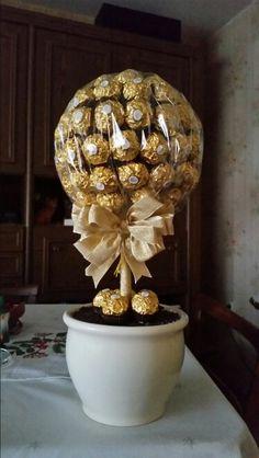 Ferrero Rocher Baum
