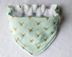 Baby Bandana Dribble Bib Bibs My Little Fox Foxy Fabric Dress Nappy Boho