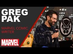 Greg Pak - Marvel LIVE! NYCC 2016 - Video --> http://www.comics2film.com/greg-pak-marvel-live-nycc-2016/  #Marvel