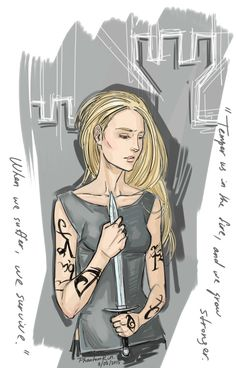 Emma Carstairs(The Shadowhunter series by Cassandra Clare)Gosh, not glad with it at all…Well, maybe a tiny little bit) Still, long way to go.